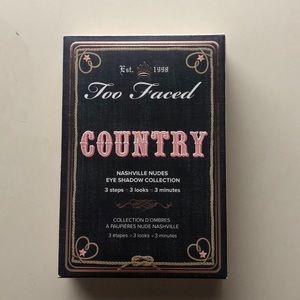 Too Faced Country eye shadow collection